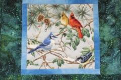 Birds thread sketching